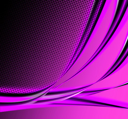 Abstract background in magenta