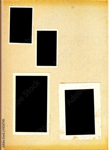 Foto op Plexiglas Retro Blank photo album