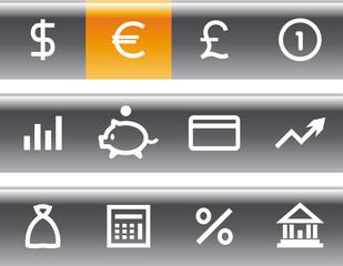 Vector Finance, Banking Icon Set