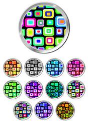 Creative Eye-Catching Different Button Set