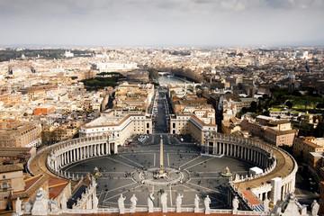 Die Dächer Roms