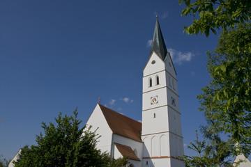Kirche von Oberhausen im Landkreis Dingolfing-Landau
