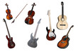 guitares and violines