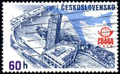 Cekoslovensko. Praga. 1976. Timbre postal oblitéré.