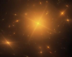 Goldener Sternenhimmel