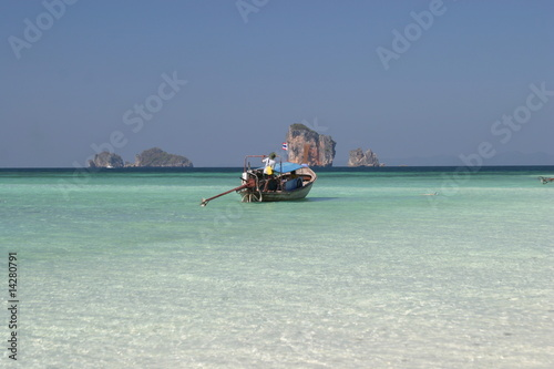 Beach Panorama - Ko Poda, Thailand
