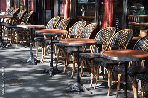 Terrasse de brasserie - 14281559