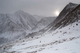 Eastern Sayan mountains. Altai.