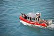 Leinwanddruck Bild - U.S. Coast Guard Patrol Boat
