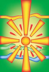 beauty sun light