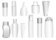 patterns of the bottles  for shampoo and make-ups