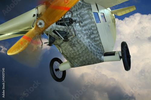 Historisches Flugzeug