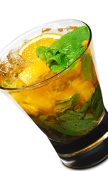 Cocktail - Orange Mojito