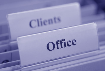 Office Clients blue