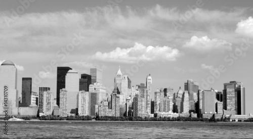 Foto op Aluminium Toronto Black and white Manahattan skyline