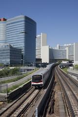 U-Bahn Wien, vor UNO-City