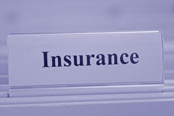 Insurance blue