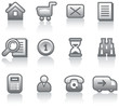 E-Commerce Icon Set (Vector)