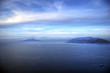napoli, il Vesuvio e la penisola sorrentina