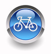 Bycicle glossy icon
