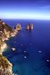 Capri i faraglioni