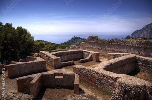 Capri, le rovine di villa jovis