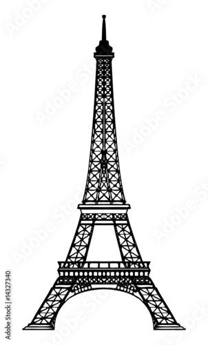 Fototapeta Tour Eiffel - Eiffel Tower