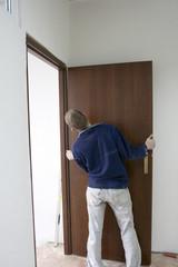 installing the doors