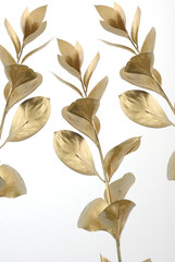 Gold branch decor