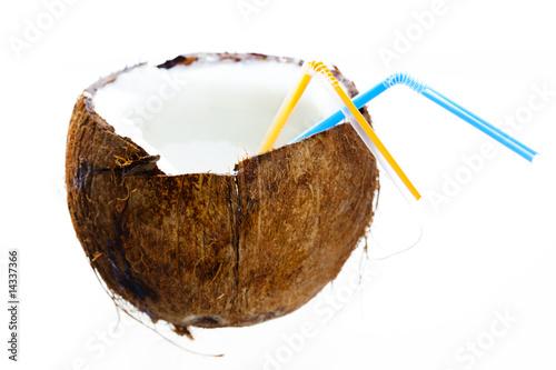 kokosnuss cocktail von drubig photo lizenzfreies foto 14337366 auf. Black Bedroom Furniture Sets. Home Design Ideas