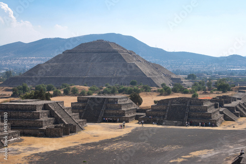 Teotihuacan Pyramids © f9photos