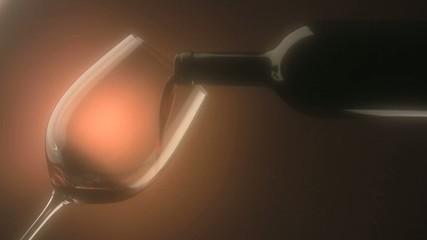 bicchiere di vino rosso