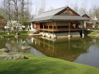 Maison du jardin japonais à Hasselt