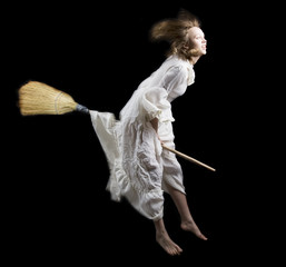 flying the broom