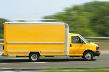 Generic Bright Yellow Van/Truck
