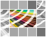 collage color pantone