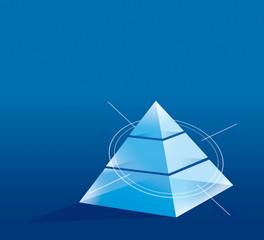 Graphic pyramid