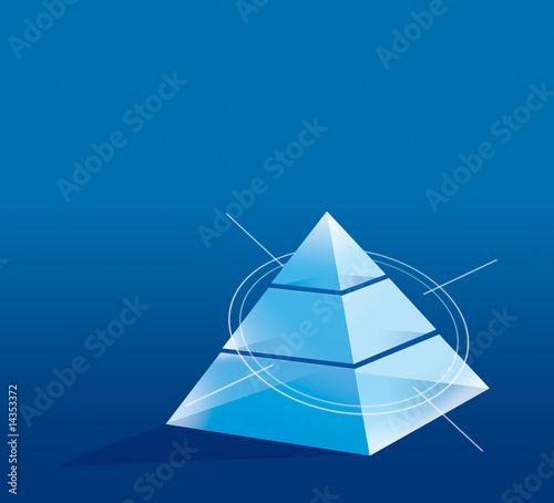 Graphic pyramid