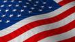 US flag waving - based on Hi-res photograph