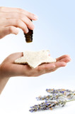 alternative medicine: essence lavender poster