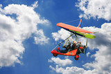 Motorized hang - glider