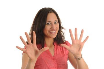 alle zehn finger