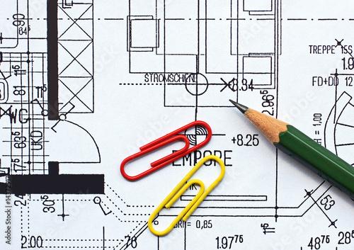 Grundriss Wohnung - ground plan B