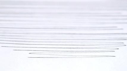 Pencil doodles on paper - HD