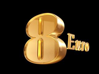 8 euro golden