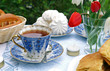 Summer afternoon tea-table - 14376720