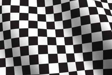 Checkered flag - NTSC - seamless loop
