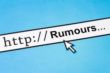 online rumours