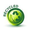 Vector Green RECYCLED Label