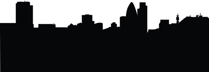 London skyline 2009